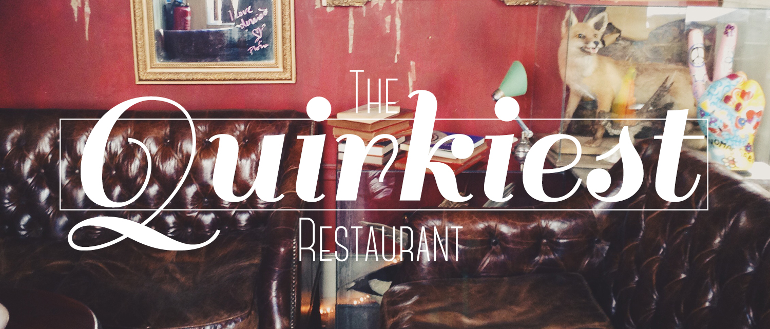 The quirkiest restaurant in Paris, Derriere