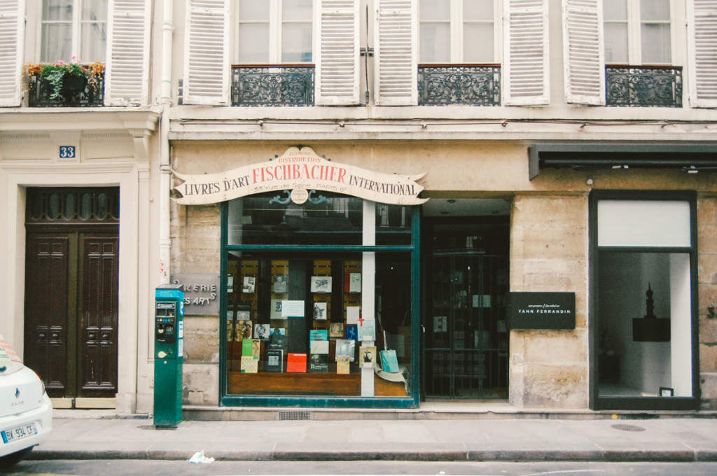 Paris Art Bookstore