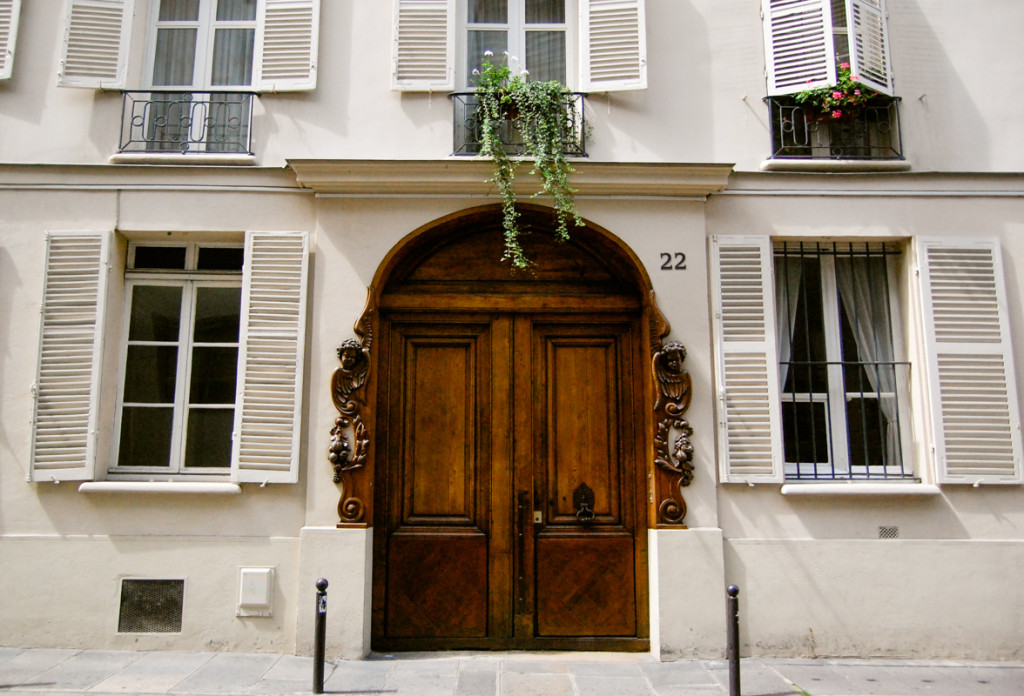 Earthy Parisian Door