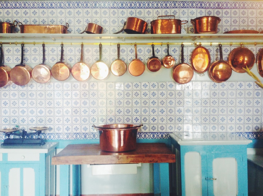 Monet's Kitchen at Giverny