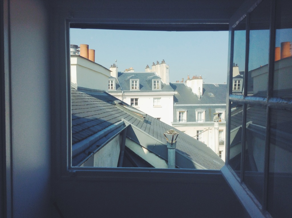paris window view