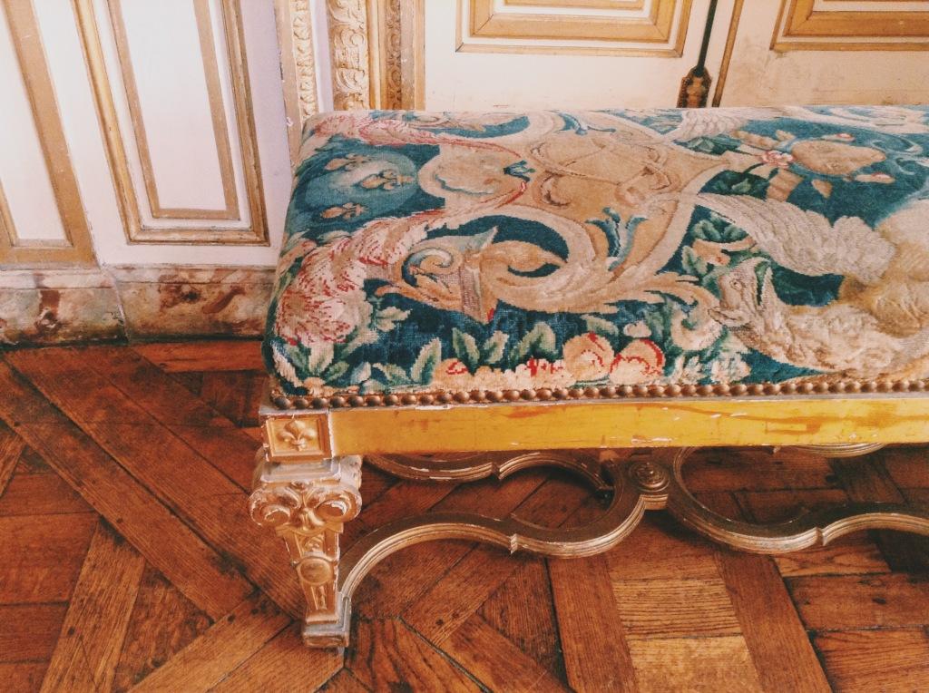 stool chateau de versailles