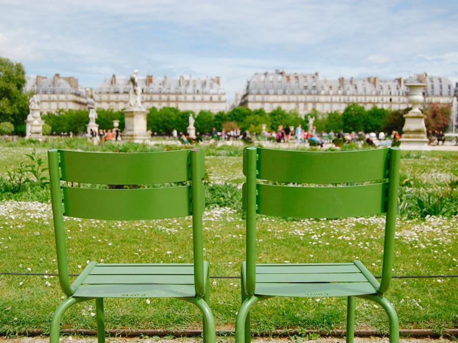 Jardin des Tuileries - French Californian