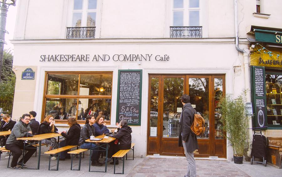 Shakespeare & Company Cafe