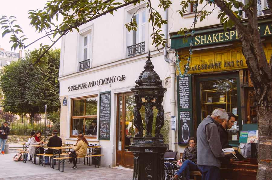 Shakespeare & Company Cafe