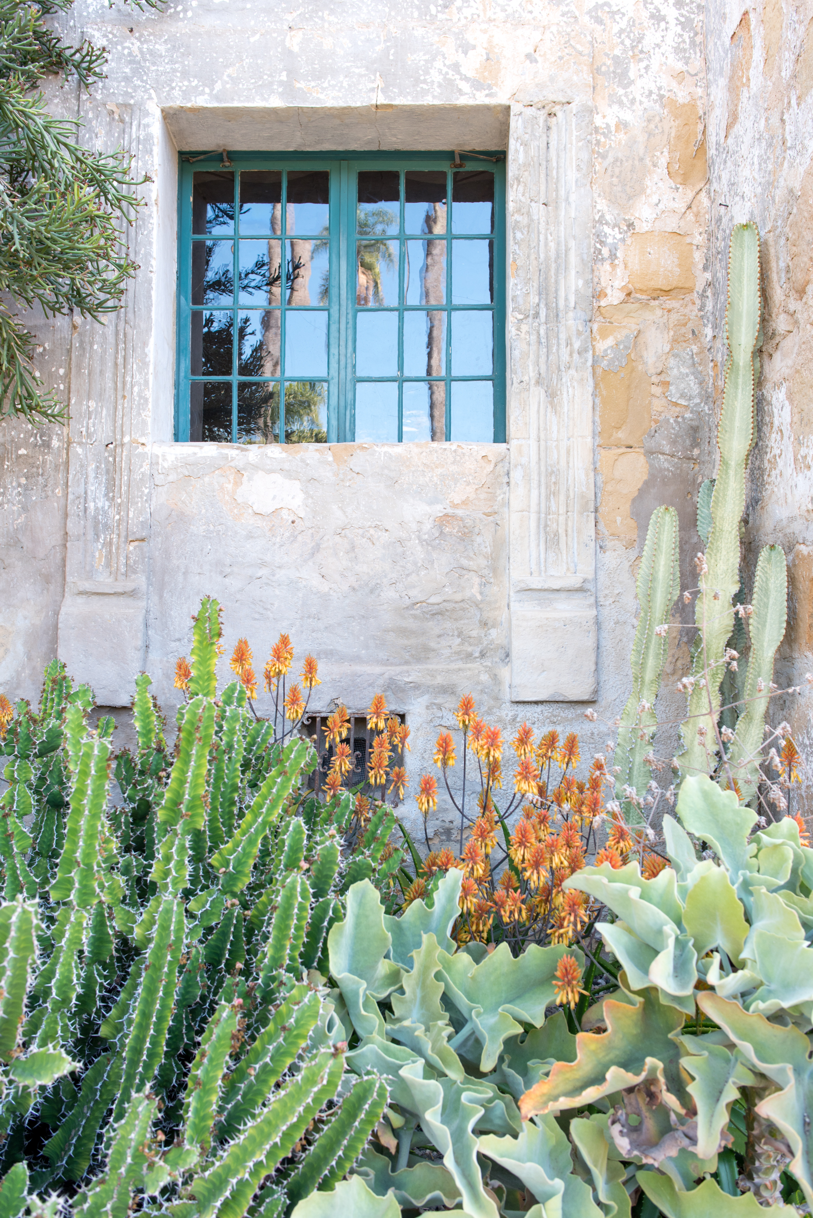 The Santa Barbara Mission by French Californian