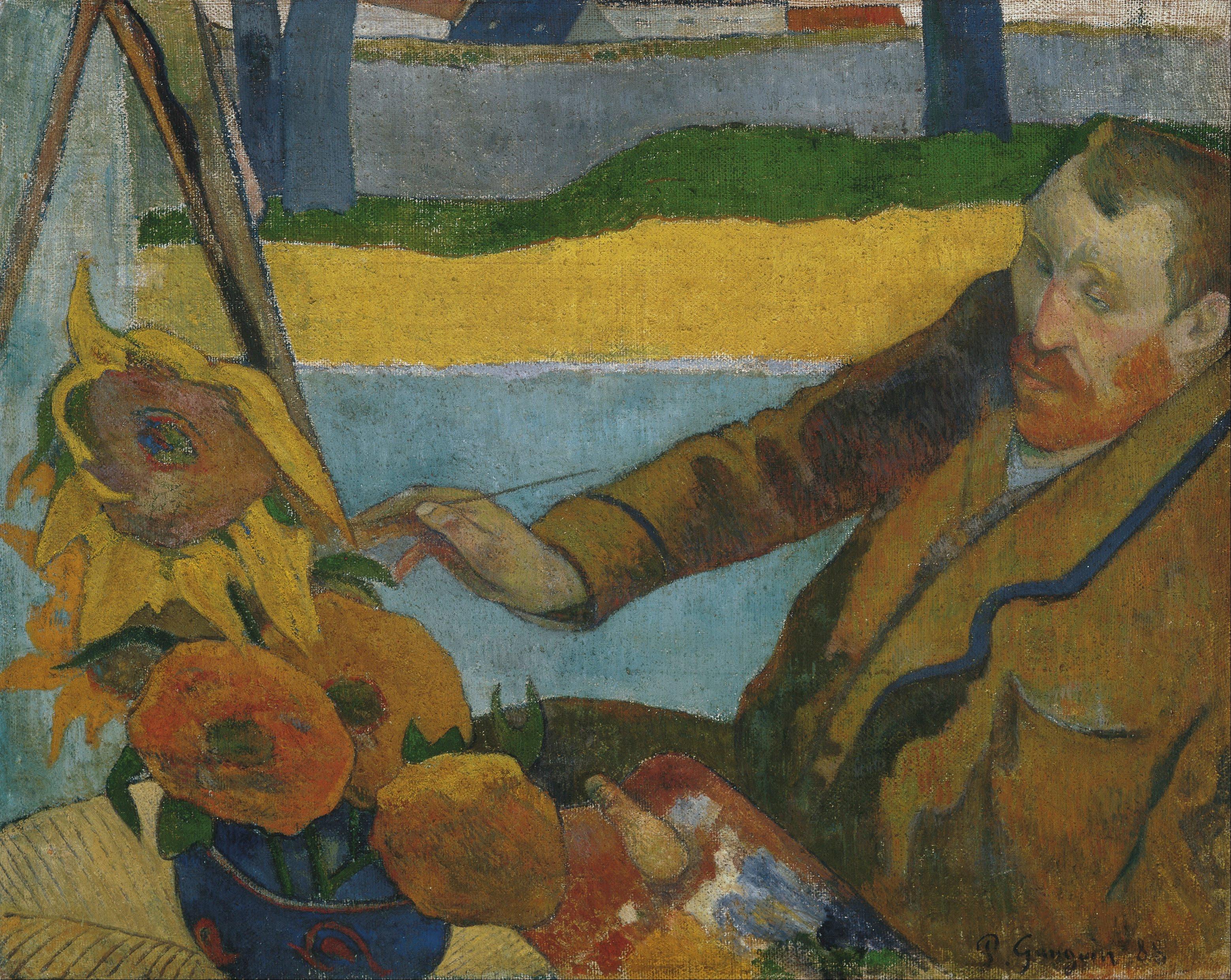 Paul Gauguin, 1888, Van Gogh Museum, Amsterdam