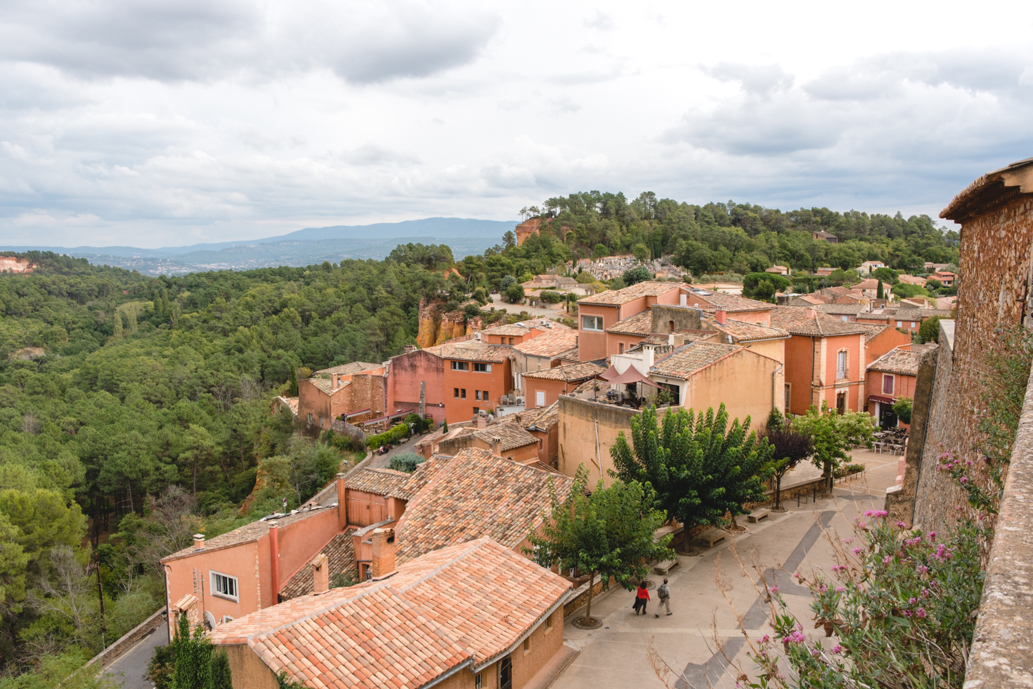 The Colors of Rousillon, France via French Californian