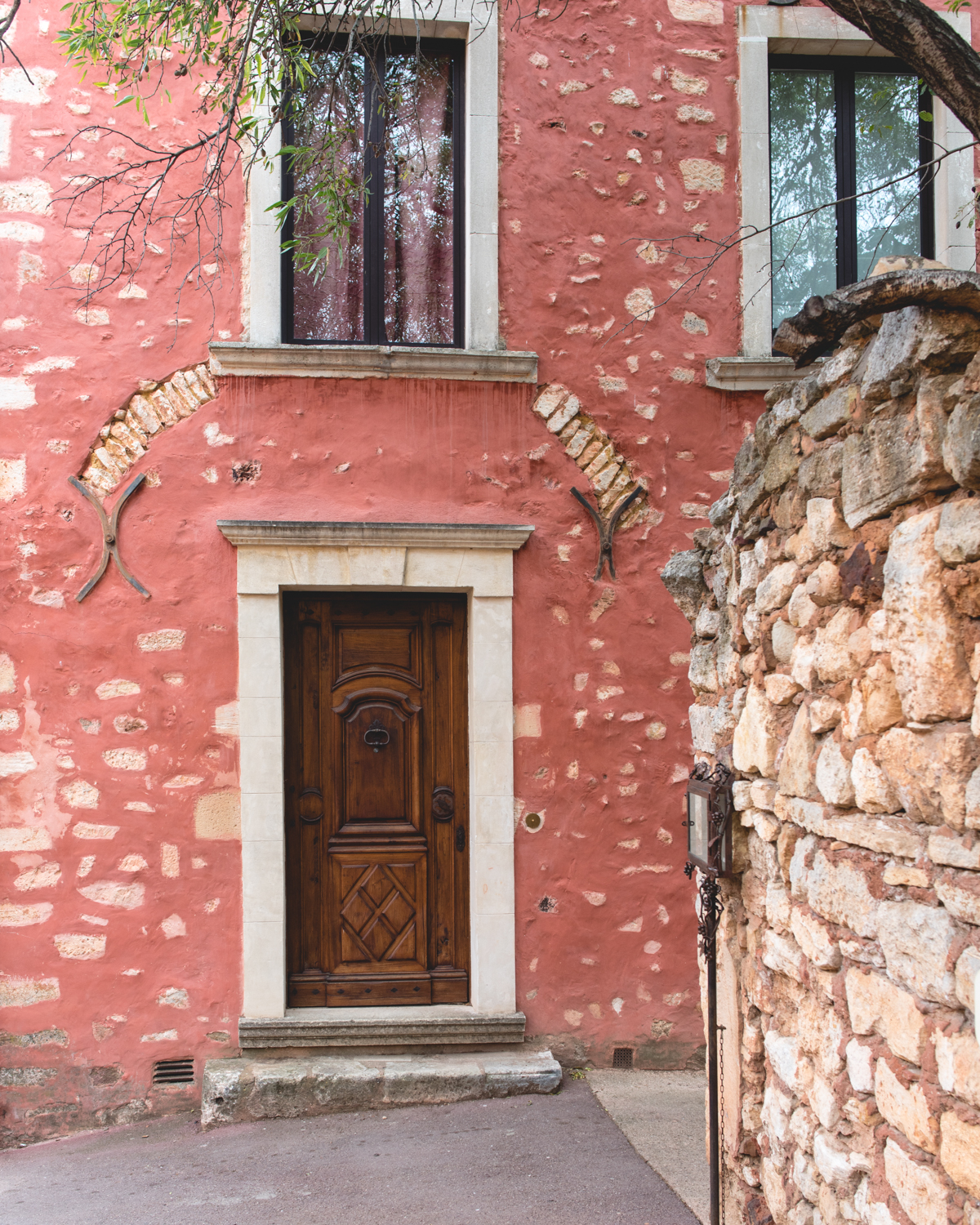 The Colors of Roussillon, France via French Californian
