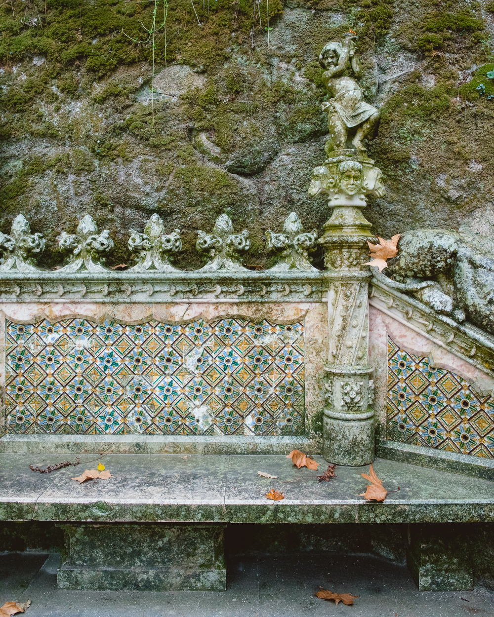 Quinta da Regaleira, Sinta, Portugal - French Californian