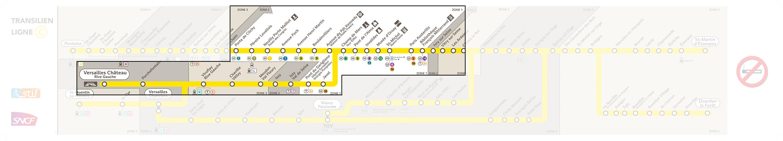 RER C Line Paris-Versailles